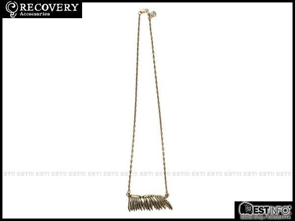 【EST】Recovery 2014 Wing Bone Necklace 羽毛 骨頭 項鍊 [Rc-4016] 古銀/古銅 E0514 0