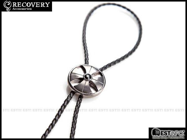 【EST】Recovery 2014 Cross Diamond Bolo Tie 十字鑽 保羅 領帶 項鍊 [RC-4018] 黑鎳紅/黑銀黑 E0514 1