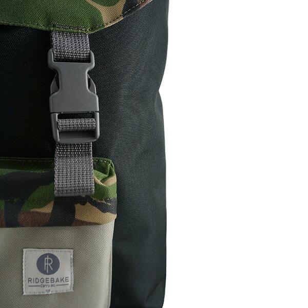 【EST】Ridgebake HOOK Backpack 後背包 迷彩黑 [RI-1116-973] F0430 2