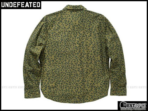 【EST】UNDEFEATED FIELD 豹紋 軍裝 大衣 外套 [UF-4118] 綠/黑 S~L E1001 1