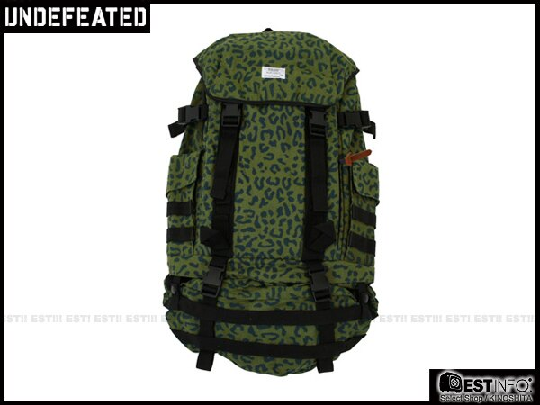 【EST】UNDEFEATED BACKPACK 多功能 可拆 豹紋 迷彩 後背包 [UF-4128] 綠 E1001 0
