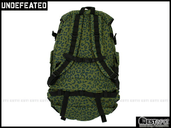 【EST】UNDEFEATED BACKPACK 多功能 可拆 豹紋 迷彩 後背包 [UF-4128] 綠 E1001 1