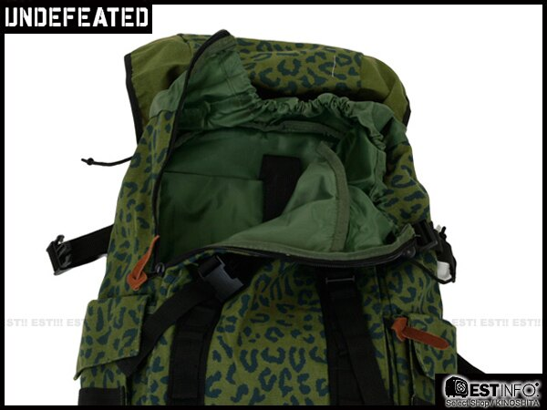【EST】UNDEFEATED BACKPACK 多功能 可拆 豹紋 迷彩 後背包 [UF-4128] 綠 E1001 2