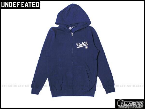 【EST】Undefeated Zip Hoodie 帽夾 外套 [UF-5139] 黑/綠/灰/藍 S~L E1008 1