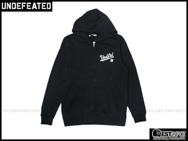 【EST】Undefeated Zip Hoodie 帽夾 外套 [UF-5139] 黑/綠/灰/藍 S~L E1008 2