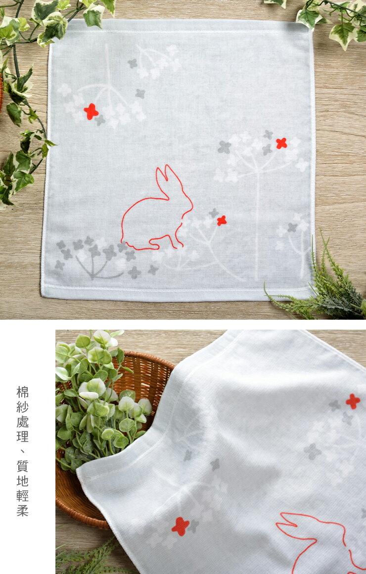 日本今治 - ORUNET - 雪花手帕(兔子)《日本設計製造》《全館免運費》,有機棉,有機棉來自3年以上無化學肥料&無農藥之土地,生產階段亦無使用任何藥劑、無漂白、無染色,採用最純淨的有機棉製作最天然安心的產品。