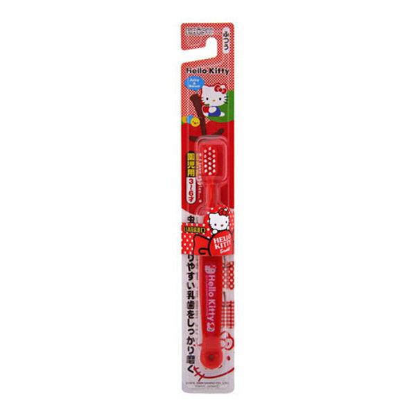 日本【EBISU】 Hello Kitty 兒童牙刷 (3~6歲) - 限時優惠好康折扣