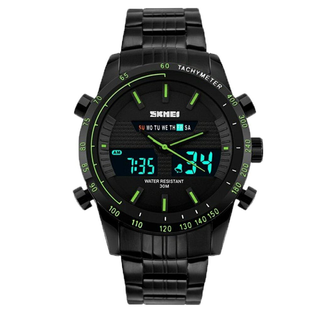 SKMEI 時刻美 1131 時尚雙顯夜光多功能防水計時運動錶 2