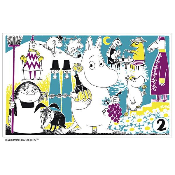 Moomin嚕嚕米 - 壁紙 / 壁畫:【 赴宴 】