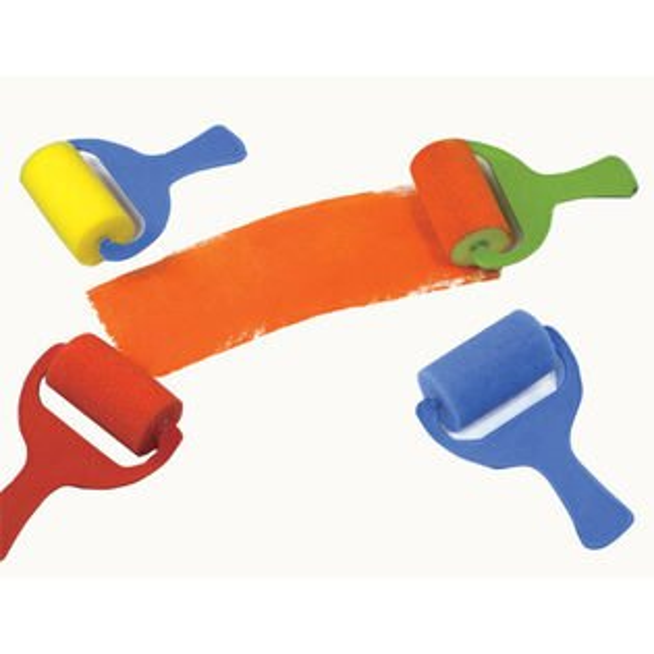 【華森葳兒童教玩具】美育教具系列-海綿滾輪-彩色 L1-AP/211/SR (華森葳系列消費1500元加贈赫利手動炫光風扇)