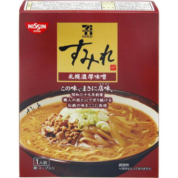 有樂町進食品 日本7-11黃金版 一風堂札幌濃厚味噌拉麵 125g 4902105102589 0