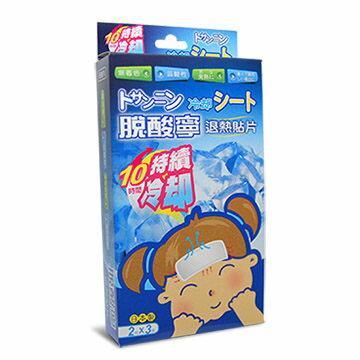 【脫酸寧】退熱貼片 (未滅菌) 6片/盒 (10時間持續冷卻) - 限時優惠好康折扣