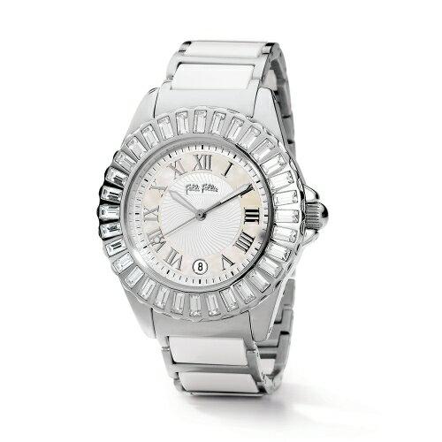 Folli Follie 耀眼奪目時尚晶鑽陶瓷錶