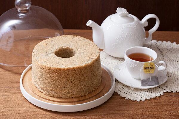 伯爵紅茶戚風蛋糕 七吋