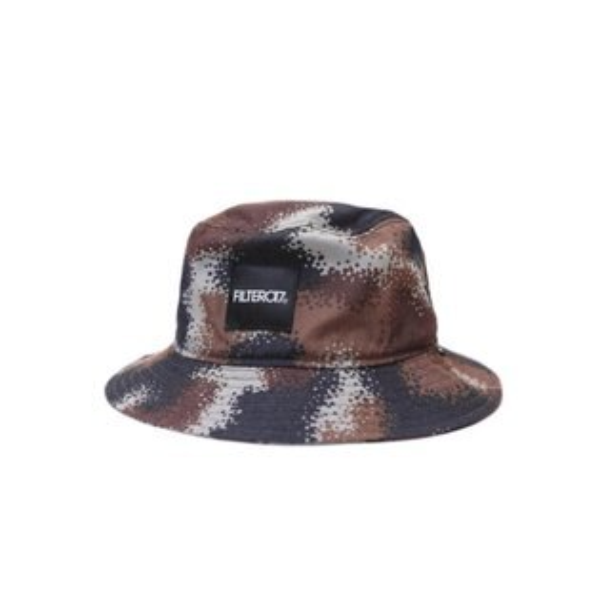 ►法西歐_桃園◄ Filter017 Bucket Hat Denmark Camo 斑點 迷彩 灰 藍 咖 棕 黑 平頂 漁夫帽 棕黑