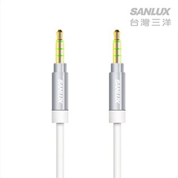【SANLUX台灣三洋】耳機麥克風音源線/SYCB-AA3100
