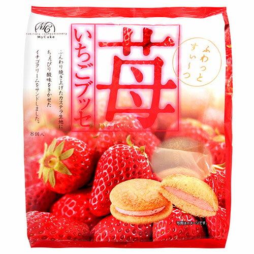 有樂町進口食品 柿原 草莓蛋糕136g_8入 4901554035615 0