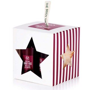 *Realhome* The Body Shop 可愛方型禮盒 煙燻玫瑰 限量新包裝 new 預購中