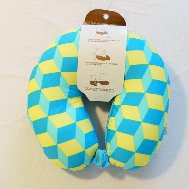 70年代普普風 頸枕  紓壓/休息 便利實用   3色可選 2