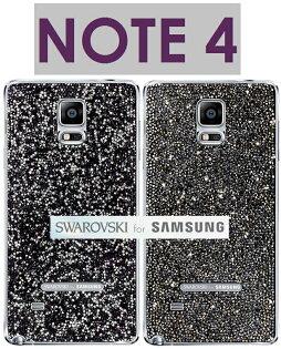 【原廠盒裝】三星 Samsung Galaxy Note4 原廠施華洛世奇水晶背蓋背殼 Note 4 Swarovski