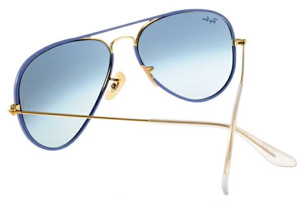 Ray Ban 雷朋  藍色金邊 RB3025JM 太陽眼鏡 6