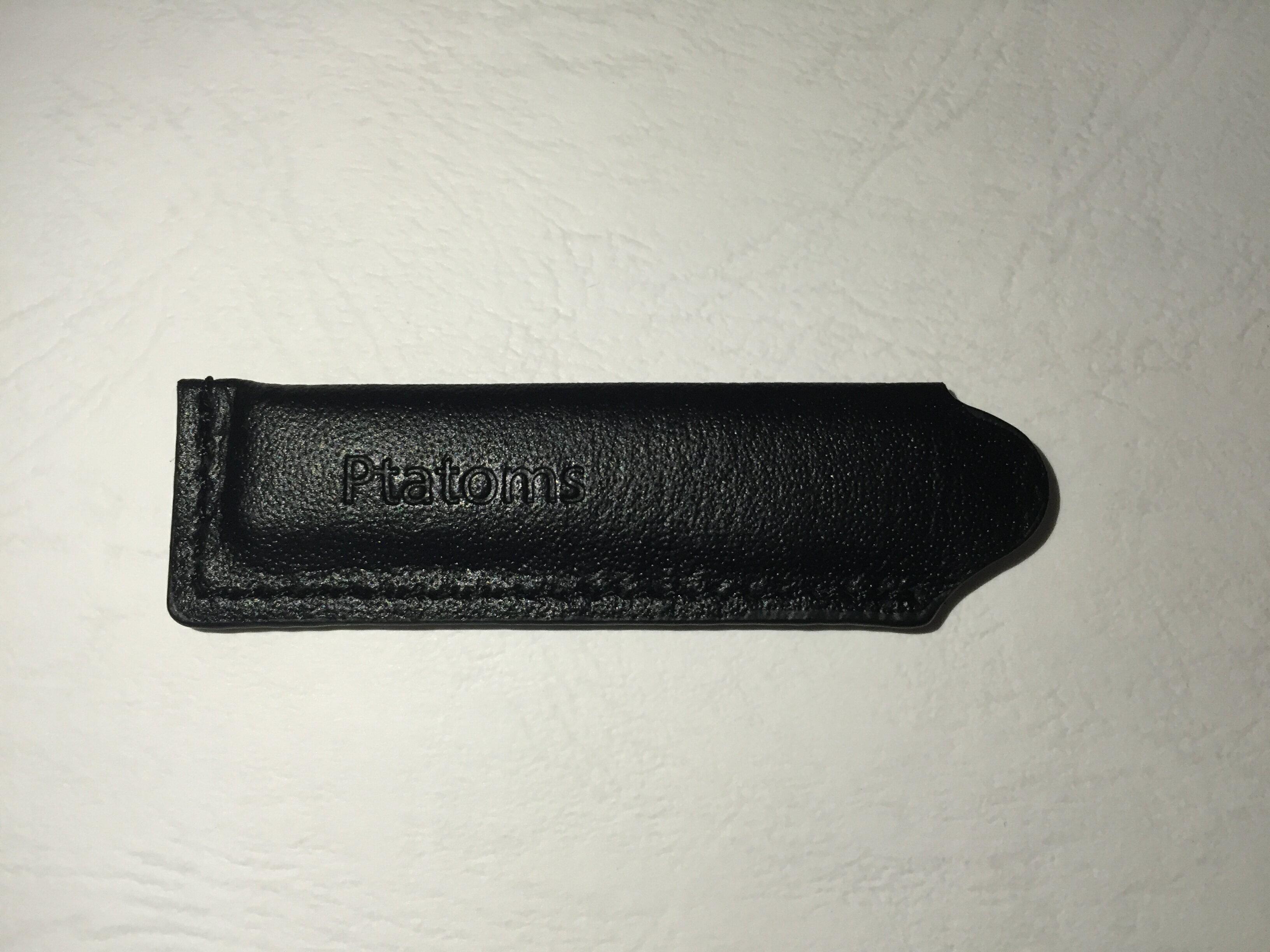 ELK-PTATOMS高品質金色USB隨身碟精美禮盒組16G(付黑色質感皮套) 4