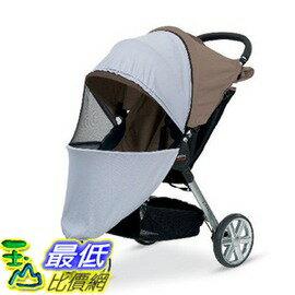 [104美國直購] 嬰兒推車專用遮陽罩 Britax B-Agile Stroller Sun Cover Stroller UV Mosquito Net S896700_TB0