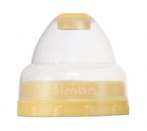 『121婦嬰用品館』辛巴 粉彩PP寬口奶瓶蓋組 1