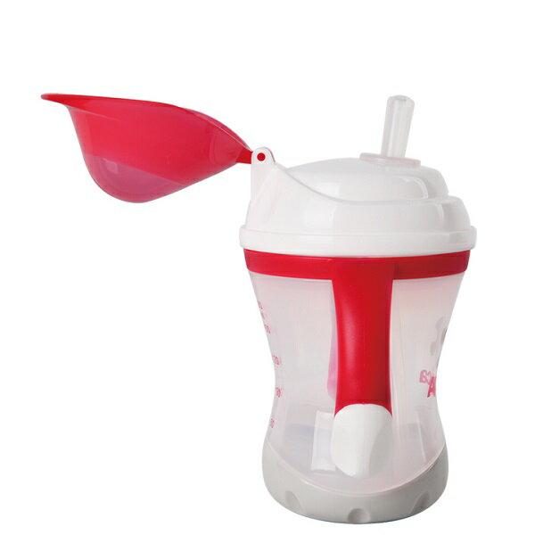 Aprica愛普力卡 - 軟管掀蓋喝水練習杯 STEP 3 4