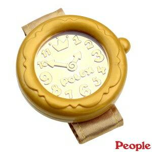 日本【People】寶寶的金色手錶玩具 0