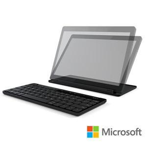 微軟 microsoft  通用型行動鍵盤 可支援 ios、Android 裝置及 Windows 平板電腦 ◆無線 Bluetooth 技術 ◆充電式電池