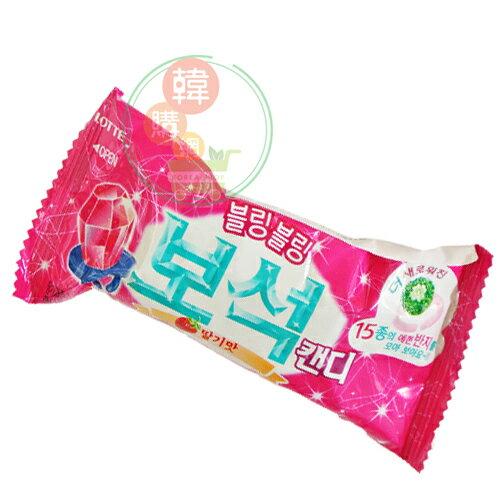 【韓購網】韓國LOTTE樂天寶石糖13g★戒指糖鑽石糖★韓國零食糖果