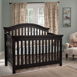 【Rockland】奧克蘭四合一大床(2色)-附贈床墊+床側護欄 1