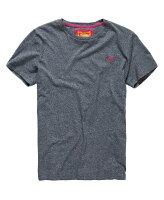 Superdry極度乾燥商品推薦美國百分百【Superdry】極度乾燥 T恤 上衣 T-shirt 短袖 短T 經典 灰色 logo 素面 S M號 F235