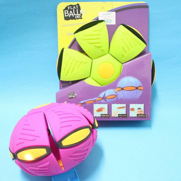 神奇可變形 6燈LED飛碟球 飛盤球/一個入{定400}~YF11746