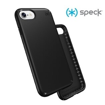 【愛瘋潮】Speck Presidio iPhone 7 纖薄防摔保護殼 - 霧面黑色 手機殼