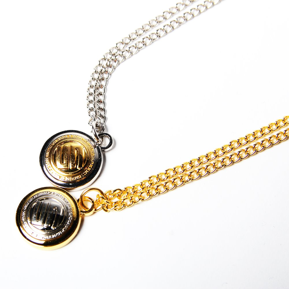 STAGE GOLDEN STAGE 2TONE NECKLACE 金/銀 兩色 0