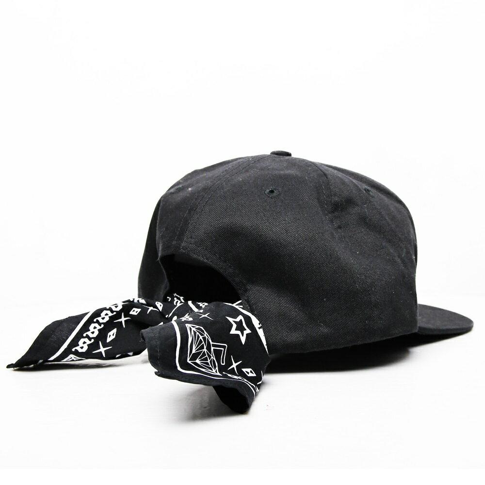 STAGE GOTHIC GANGSTER SNAPBACK CAP黑 單色 2