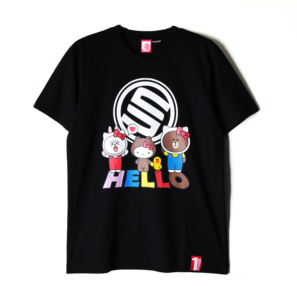 STAGE x HELLO FRIENDS 聯名限定 STAGE HELLO STAGE TEE 1