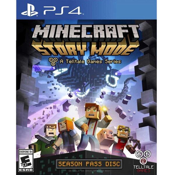 PS4 我的世界:劇情模式 完整版 中英文美版 Minecraft: Story Mode