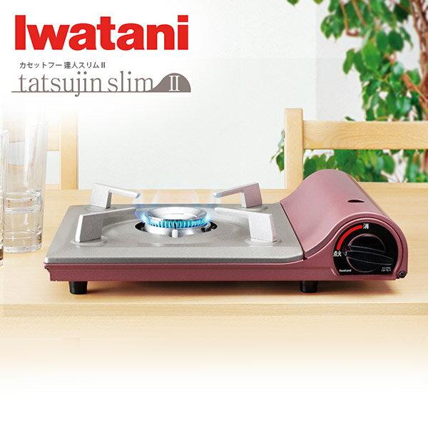 日本岩谷Iwatani超薄卡式爐 櫻花粉TS-1