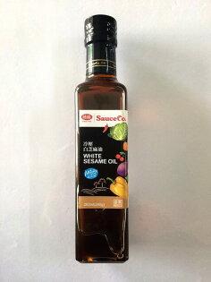 味榮 冷壓白芝麻油 240g/瓶 ~保存至2017.01.16.售完為止 原價$230 特價$184
