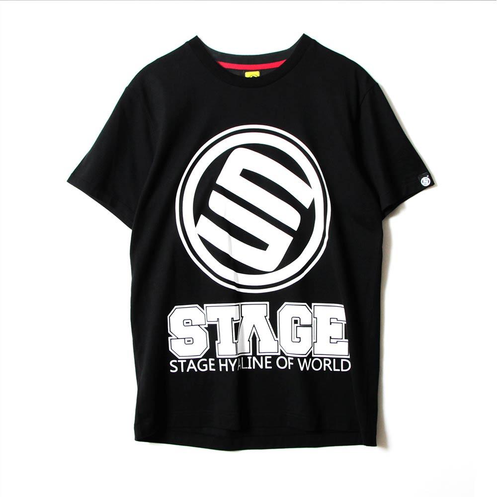 STAGE RETRO CLASSIC LOGO SS TEE  黑色/白色 兩色 6