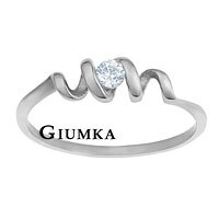 ~GIUMKA~心動奇蹟戒指 德國精鋼戒指鋯石 名媛淑女款 單個 MR00327 ~  好