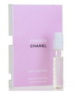 leleshop-chanel chance EDT 2ml 噴試女用小香水.(綠色)