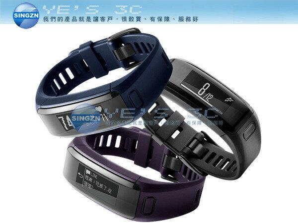 「YEs 3C」Gamin vivosmart HR iPASS(一卡通版)行動支付/心率手環 計步器 觸控式螢幕 充電式鋰電