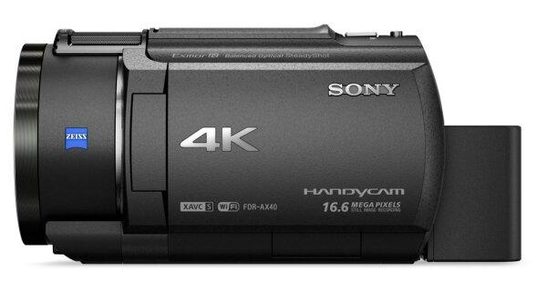 【加碼贈送NP-FV70電池】SONY 索尼 FDR-AX40 最新上市 AX40 4K Handycam® 搭載 Exmor R® CMOS 感光元件 公司貨