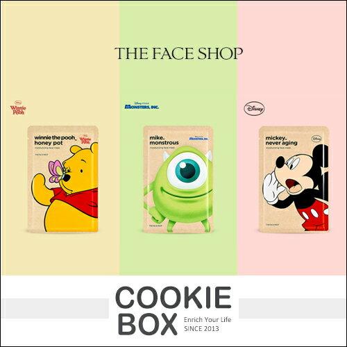 韓國 The face shop X Disney 迪士尼 保濕 面膜 25g *餅乾盒子*