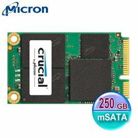 Crucial 美光 Micron SSD MX200 MLC 250GB mSATA 固態硬碟
