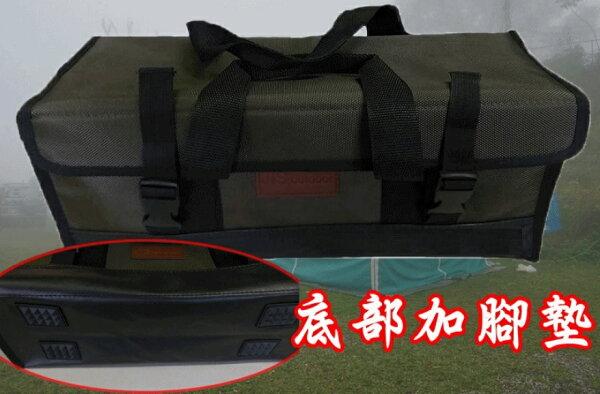 多功能內層防水工具箱 / 萬用工具箱 營釘 營槌 銅錘 / AJ238